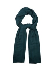 Denis Colomb Cloud Nomad Cashmere Scarf Dark Green