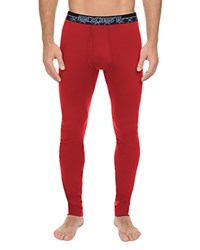 2Xist 2 X Ist Tartan Tech Long John Pants Scotts Red