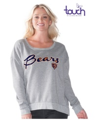 G3 Sports Women's Chicago Bears Embrace Sweatshirt Gray