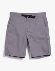 Norse Projects Laurits Cotton Ripstop Shorts Mouse Grey