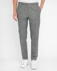 Carven Houndstooth Tailored Trousers