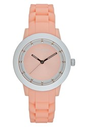 Pilgrim Watch Silvercoloured Peach Rose