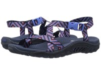 Skechers Reggae Haystack Navy Pink Women's Sandals
