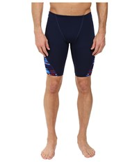Tyr Anik Blade Splice Jammer Red White Blue Men's Swimwear Multi