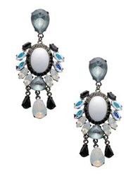 Vickisarge Earrings White