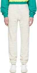 Gosha Rubchinskiy Off White Spacedye Cotton Lounge Pants