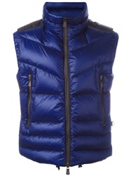 Moncler Grenoble Padded Sleeveless Gilet Pink Purple