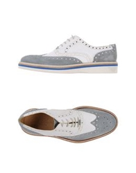 Gold Brothers Lace Up Shoes White
