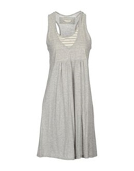 Almeria Short Dresses Light Grey