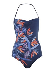 Biba Selina Nouveau Trellis Placement Swimsuit Multi Coloured