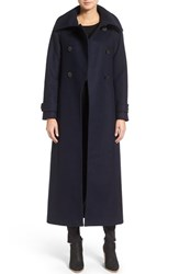 Mackage Women's Double Breasted Military Maxi Coat