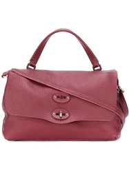 Zanellato Small 'Postina Cash Pura' Tote Red