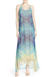 Women's Charlie Jade Print Silk A Line Dress