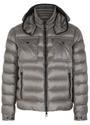 Moncler Edward Grey Quilted Jacket