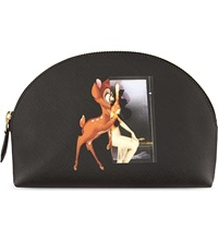 Givenchy Bambi Cosmetic Pouch Black Multi
