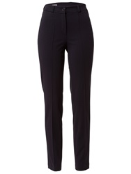 Basler Sally Skinny Jersey Trousers Navy