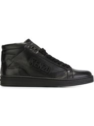 Kenzo 'Tenniz' Hi Top Sneakers Black