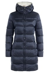 Colmar Down Jacket With Hood Blue