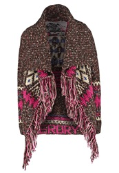 Superdry Avoriaz Cardigan Chocolate Brown