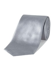 Chester Barrie Patterned Tie Grey