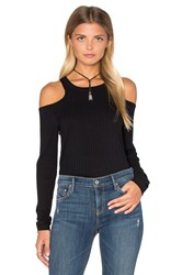 Lna Aj Long Sleeve Top Black