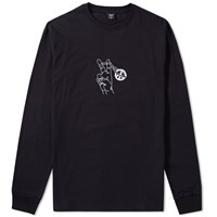 Patta Long Sleeve Peace Shootin Tee Black