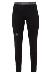 Odlo Tights Black Silver