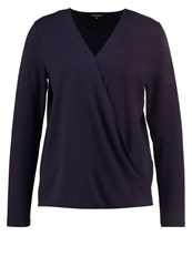 More And More Long Sleeved Top Marine Dark Blue