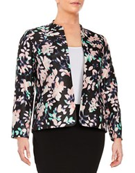 Nipon Boutique Plus Floral Sateen Jacket Tutu Pink