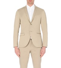 Tiger Of Sweden Cotton Blazer Khaki