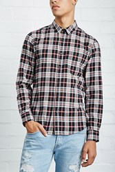 Forever 21 Slim Fit Flannel Shirt