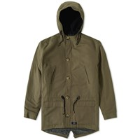 Bleu De Paname Fishtail Parka Green