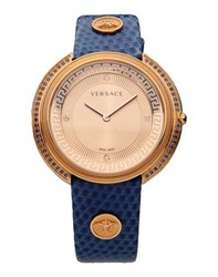 Versace Timepieces Wrist Watches Women Blue