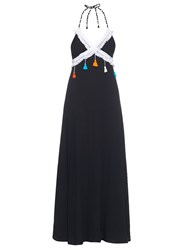 Vmt Careyes Steph Halterneck Maxi Dress