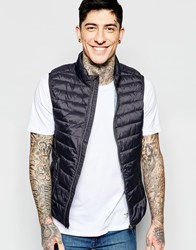Sisley Quilet Vest Charcoal