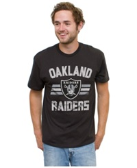 Authentic Nfl Apparel Men's Oakland Raiders Halfback T Shirt