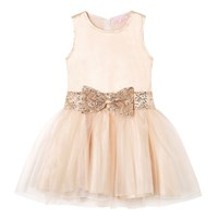 Cutie And Cool Lily Glitter Dress Gold