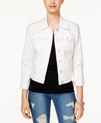 American Rag White Wash Denim Jacket Only At Macy's