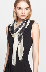 Yigal Azrouel Paisley Print Scarf Jet Multi