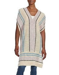 Free People So Easy Poncho Dress Beige