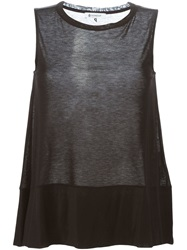 Dondup Loose Fit Tank Top Black