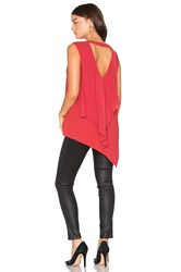 Bcbgmaxazria Tayloir Tank Red