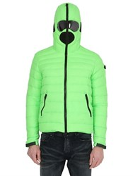 Ai Riders On The Storm Zip Up Nylon Down Jacket