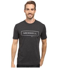 Merrell M Stamped Tee Black Men's T Shirt