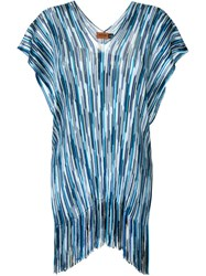 Missoni Fringed Tunic Multicolour