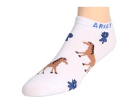 Ariat Blue Ribbon No Show Socks White Women's No Show Socks Shoes