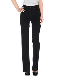 Jeans Les Copains Trousers Casual Trousers Women Black
