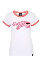 Dream Girl Ailsa T Shirt By Illustrated People White