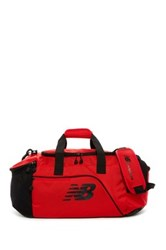 New Balance Canvas Performance Duffel Bag Red
