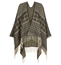 Hobbs Natalie Check Wrap Grey